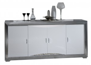 Black Or White High Gloss Sideboards (View 22 of 30)