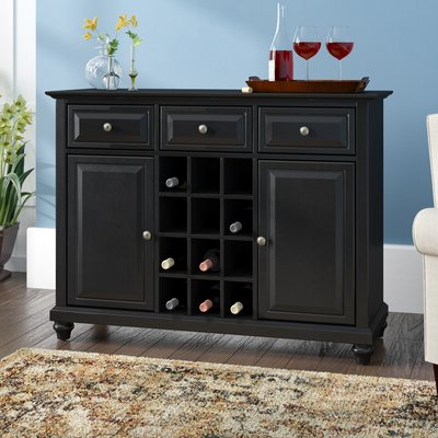Black Sideboards & Buffets You'll Love In  (View 4 of 30)