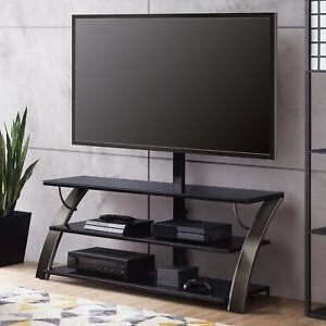 """Bloomfield Tv Stands For Tvs Up To 65"""" With Regard To Famous Flat Panel Tv Stand 3in1 Display Fits 65 Inch Screen (View 3 of 30)"""