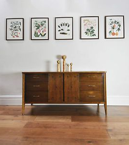 Broyhill 'saga' Sideboard With 9 Drawers (View 17 of 30)