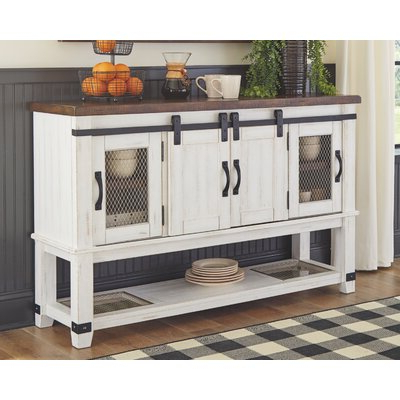 """Bruin 56"""" Wide 2 Drawer Sideboards Throughout Recent Cottage & Country Sideboards & Buffets You'll Love In  (View 2 of 30)"""