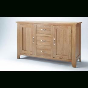 """Cambridge Oak 2 Door 3 Drawer Sideboard Co2102 Www In 2019 Heurich 59"""" Wide Buffet Tables (View 3 of 30)"""
