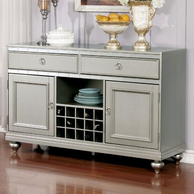 Chrome & Silver Sideboards & Buffets You'll Love In 2020 In Favorite Rayden Sideboards (View 9 of 30)