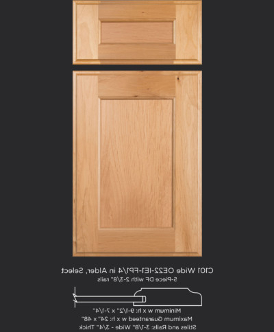 """Cope And Stick Flat Panel Cabinet Doors – Taylorcraft With Regard To Newest Aayah 45"""" Wide 2 Drawer Servers (View 7 of 30)"""