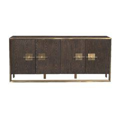 """Cora Rose 62.9"""" Wide 3 Drawer Acacia Wood Sideboards With Regard To Popular Cora Rose  (View 11 of 26)"""