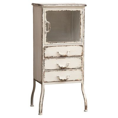 Creative Co Op Metal 3 Drawer Cabinet $ (View 28 of 30)
