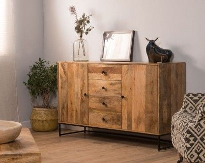 Current Imari Industrial Mango Large Sideboard (View 7 of 30)