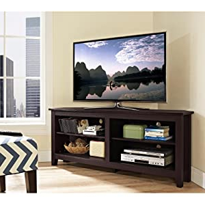 """Current Jace Tv Stands For Tvs Up To 58"""" Within Amazon: We Furniture Wood Tv Stand, 58 Inch, Natural (View 25 of 30)"""
