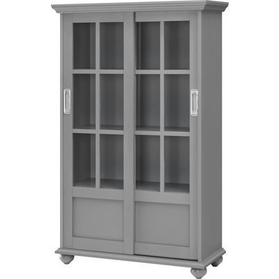 """Current Millwood Pines Floor Storage Cabinet With 2 Doors And 2 Open Shelves Inside Found It At Wayfair – 51"""" Barrister Bookcase (View 21 of 30)"""