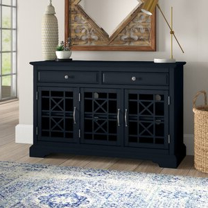 """Current Sandweiler 54"""" Wide 2 Drawer Sideboards Within Mistana™ Daisi 50"""" Wide 2 Drawer Sideboard & Reviews (View 24 of 30)"""