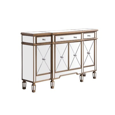 """Current Stovall 72"""" Wide Sideboards In Gold Sideboard / Credenza Sideboards & Buffets You'll Love (View 10 of 30)"""