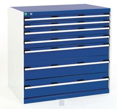 """Daisi 50"""" Wide 2 Drawer Sideboards Within Well Known Bott Cubio 7 Drawer Cabinet 1050mm Wide X 1000mm High (View 21 of 30)"""