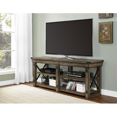 """Dallas Tv Stands For Tvs Up To 65"""" Inside Fashionable Altra Wildwood Tv Stand & Reviews (View 4 of 30)"""