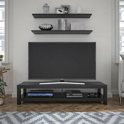 """Dallas Tv Stands For Tvs Up To 65"""" Throughout Fashionable 65 Inch Wood Tv Stand Unit Open Shelf (View 7 of 30)"""