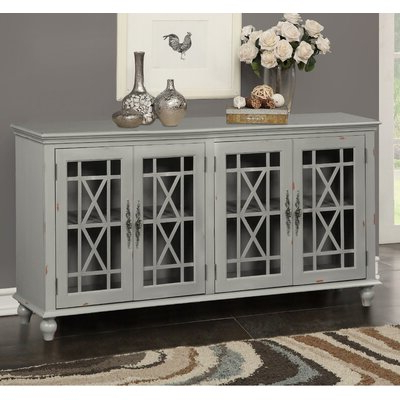 """Desirae 48"""" Wide 2 Drawer Sideboards For Newest Grey Sideboards & Buffets You'll Love In  (View 6 of 30)"""