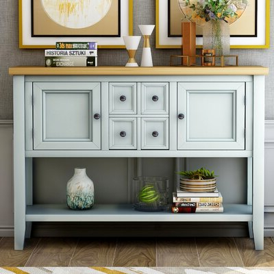 """Desirae 48"""" Wide 2 Drawer Sideboards Within Well Known Server Sideboards & Buffets You'll Love In  (View 10 of 30)"""