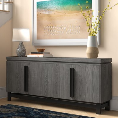 """Distressed Finish Sideboards & Buffets You'll Love In 2020 Inside Most Recent Yukon 58"""" Wide 2 Drawer Pine Wood Sideboards (View 13 of 30)"""