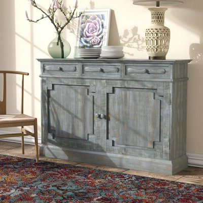 """Distressed Finish Sideboards & Buffets You'll Love In 2020 Within Well Known Bruin 56"""" Wide 2 Drawer Sideboards (View 5 of 30)"""