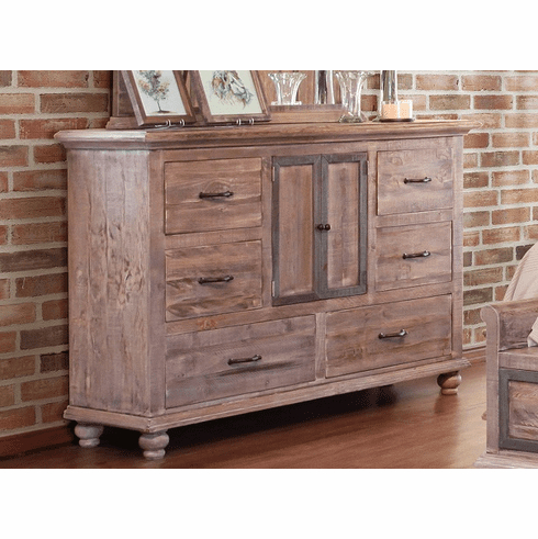 "Douros 42"" Wide Alder Wood Drawer Servers With Most Current Praga Dresser (View 2 of 2)"