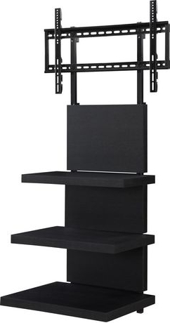 """Elevation Altramount Tv Stand For Tvs 60"""", Black (View 27 of 30)"""
