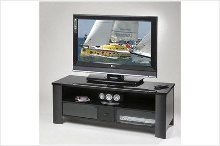 """Elite Industries El 428 – 56"""" Wide Tv Stand / A/v With Regard To Most Popular Kemble Tv Stands For Tvs Up To (View 24 of 30)"""
