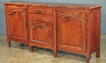 """Ellison 76"""" Wide Sideboards For Most Current Country French Oak Buffet – Clark Antiques Gallery — Clark (View 4 of 30)"""