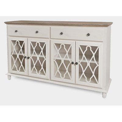 """Elllise 62"""" Wide Sideboards Pertaining To Recent White Sideboards & Buffets You'll Love In  (View 3 of 30)"""