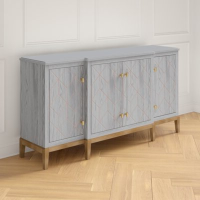 """Emmie 84"""" Wide Sideboards In Most Recent Sideboards & Buffet Tables (View 15 of 30)"""