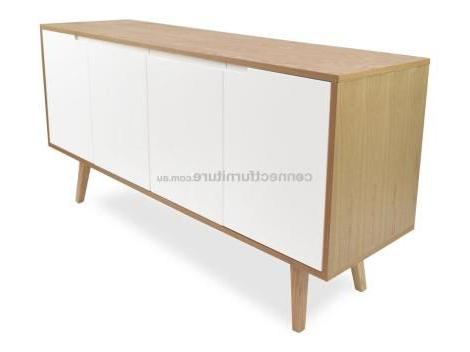 """Emmie 84"""" Wide Sideboards Intended For Latest Intsctdt1230dw (View 25 of 30)"""