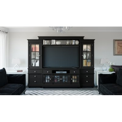 Entertainment Centers You'll Love In 2019 Regarding Preferred Blaire Solid Wood Tv Stands For Tvs Up To  (View 16 of 30)