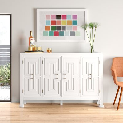 """Eskew 60"""" Wide Sideboards For Trendy Modern Sideboards + Buffets (View 12 of 30)"""