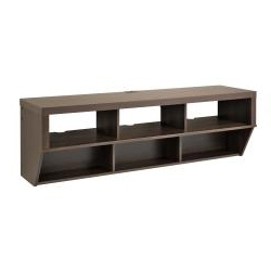 """Espresso 58 Inch Wide Wall Mounted Av Console Tv Stand Inside Fashionable Berene Tv Stands For Tvs Up To 58"""" (View 19 of 30)"""