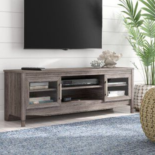 """Evanston Tv Stands For Tvs Up To 60"""" Regarding 2020 George Oliver Lemington Floating Entertainment Center For (View 10 of 30)"""