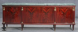 """Extra Wide High Sheen Italian Sideboard Buffet Of Flame Within Most Up To Date Heurich 59"""" Wide Buffet Tables (View 28 of 30)"""