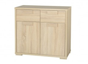 """Fahey 58"""" Wide 3 Drawer Acacia Wood Sideboards Inside Widely Used Sideboards (View 29 of 30)"""