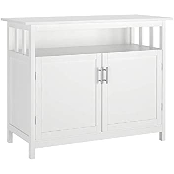 Famous Amazon – Homfa Kitchen Sideboard Storage Cabinet With Regard To Kaysville (View 3 of 30)