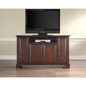 """Famous Crosley Furniture Lafayette 60 Inch Tv Stand In Vintage Throughout Lorraine Tv Stands For Tvs Up To 60"""" (View 25 of 30)"""