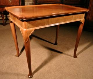 Famous Fine George Ii Mahogany Silver Table C. 1750 In Strine  (View 6 of 30)