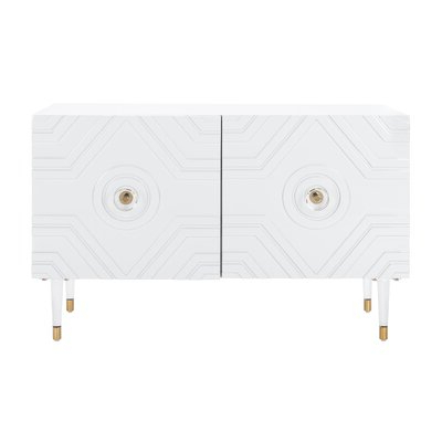 """Famous Grieg 42"""" Wide Sideboards Throughout Modern White Sideboards + Buffets (View 29 of 30)"""