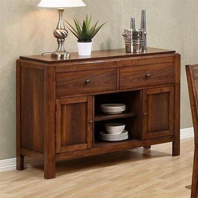 """Famous Milena 52"""" Wide 2 Drawer Sideboards Pertaining To Apawhalen Denver Sideboardapawhalen. $ (View 3 of 30)"""