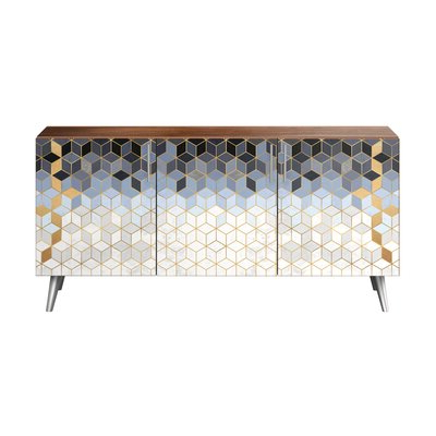 Famous Rayden Sideboards Throughout Chrome & Silver Sideboards & Buffets You'll Love In (View 15 of 30)