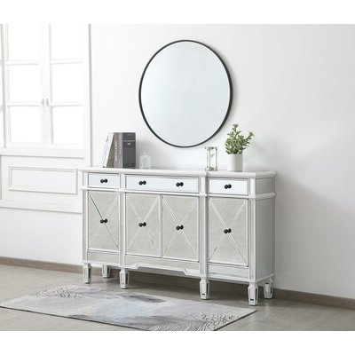 """Famous Slattery 52"""" Wide 2 Drawer Buffet Tables Pertaining To Sideboards & Buffet Tables You'll Love In (View 9 of 30)"""