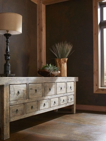 Famous Washed Black Old Pine Drawer Bank From Furniture Classics With Regard To  (View 17 of 30)
