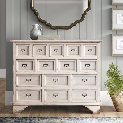 Farmhouse & Rustic Accent Chests & Cabinets (View 6 of 14)