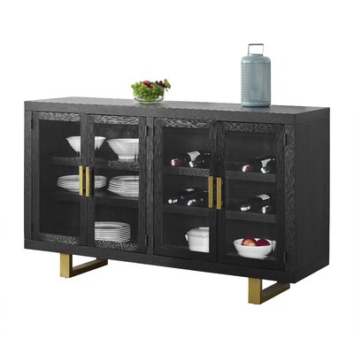 """Fashionable Benghauser 63"""" Wide Sideboards Intended For Modern Sideboards + Buffets (View 24 of 30)"""