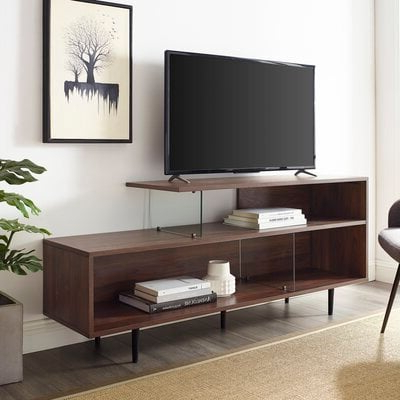 """Fashionable Leafwood Tv Stands For Tvs Up To 60"""" In Joellen Tv Stand For Tvs Up To 60 – Wayfair (View 23 of 30)"""