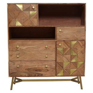 Fashionable Pablo Brass Inlay Cabinet In (View 12 of 30)
