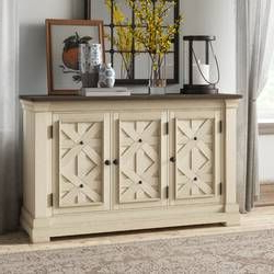 """Fashionable Zachary 70"""" Wide Acacia Wood Sideboard In  (View 8 of 30)"""