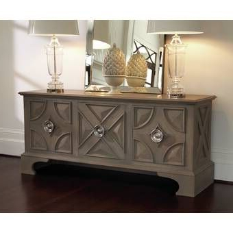 """Favorite Ronce 48"""" Wide Sideboards Intended For Laurel Foundry Modern Farmhouse Colborne 58"""" Wide 3 Drawer (View 7 of 30)"""
