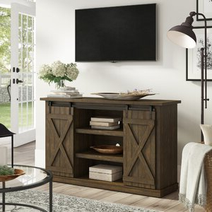 """Favorite Three Posts Lorraine Tv Stand For Tvs Up To 60"""" (View 29 of 30)"""
